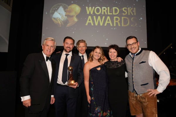 Astra at the 2016 World Ski Awards