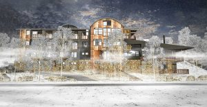Astra revamped for the 2017 Snow Season - Architectural preview