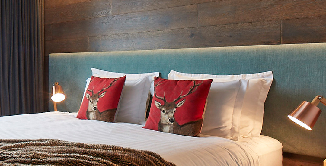 Bed in the 2 Bedroom Apartment with Balcony at Astra, Alpine Ski Accommodation at Falls Creek