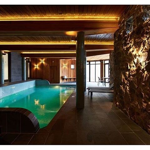 Dreaming of our magnesium heated pool that soothes sore muscleshellip
