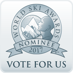 Astra - Australias Best Ski Hotel 2017 - Vote for Us button