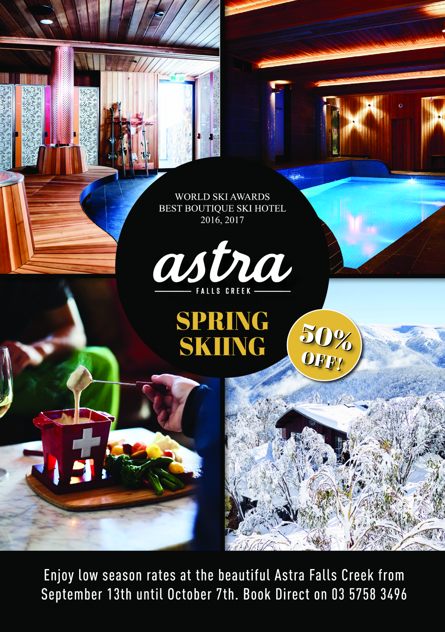 Astra Falls Creek Spring Skiing Sale
