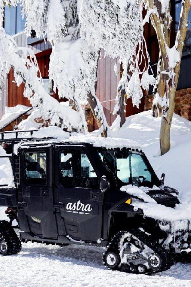 Astra Polaris ATV - Exclusive snow transfer service in Falls Creek - Astra Lodge Day 329358 - sq