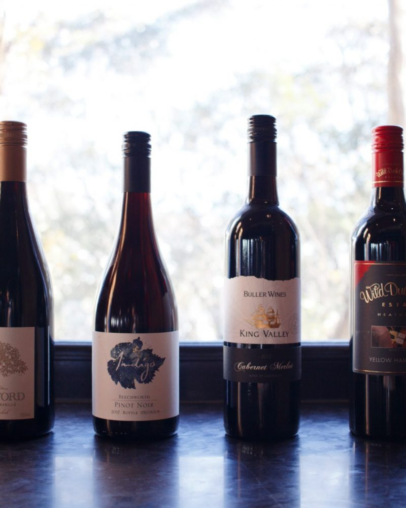 Highest quality local and international wines at Astra Falls Creek
