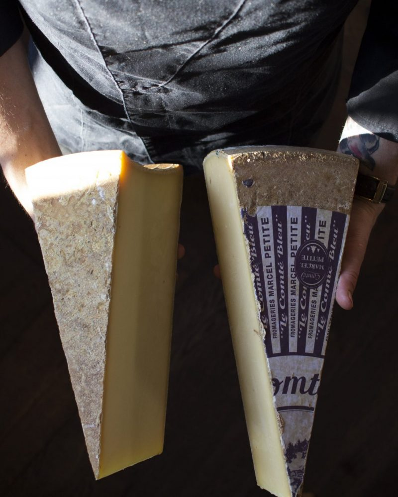 The finest cheeses available now at Astra Bar - Falls Creek