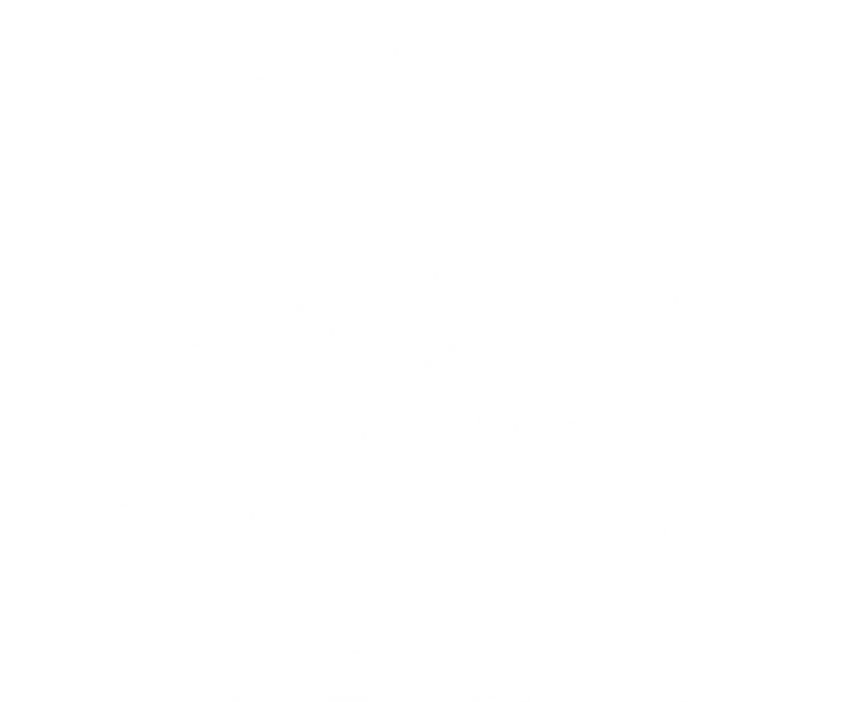 Australias best ski boutique hotel 2019 nominee shield